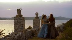 Margaery Tyrell y Sansa Stark