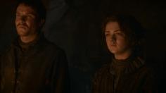 Gendry y Arya Stark
