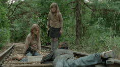 little girls the walking dead