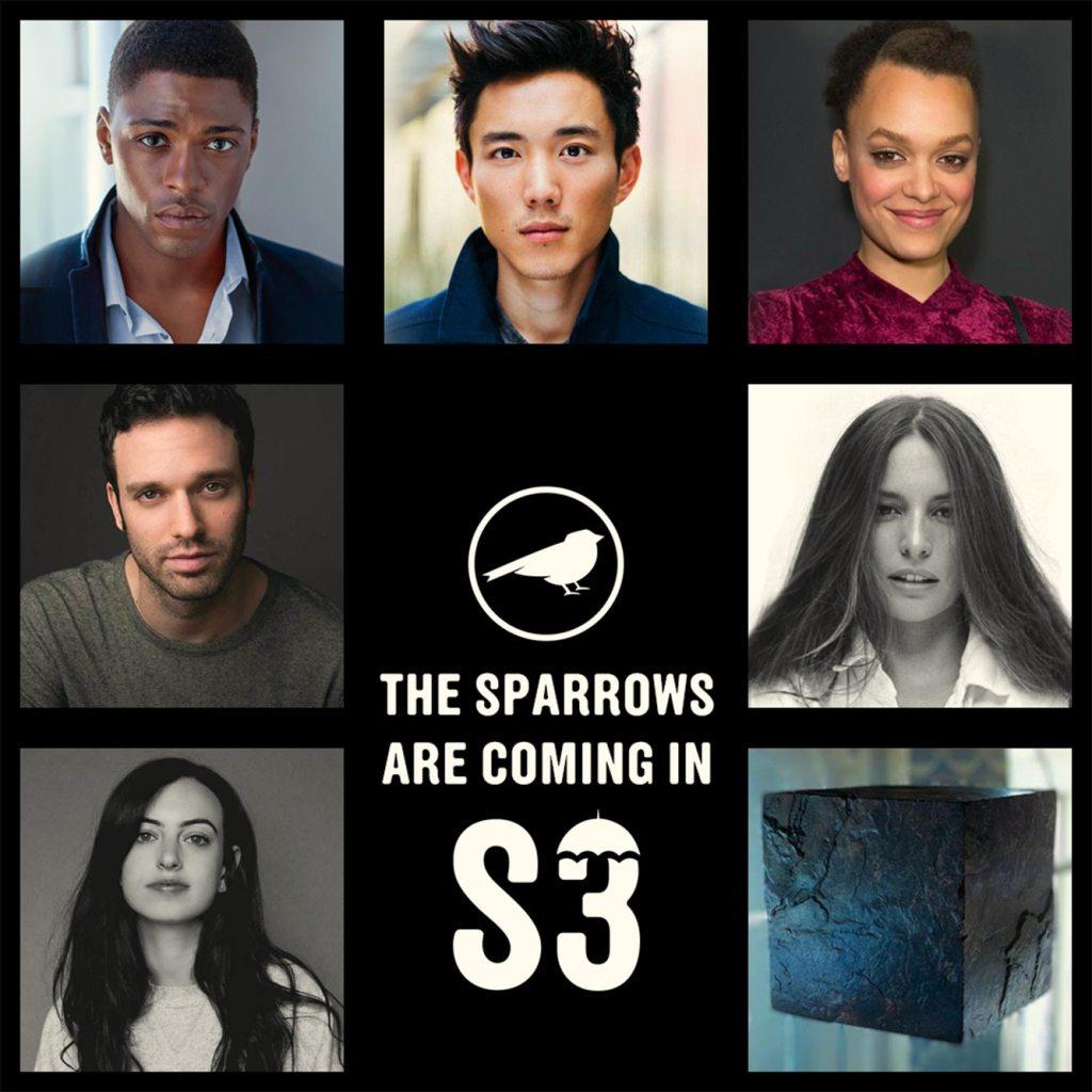 """""""The Umbrella Academy"""" presenta el cast de la Sparrow Academy"""
