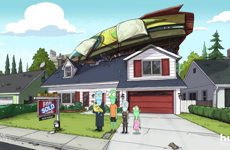 'Solar Opposites' en Disney+