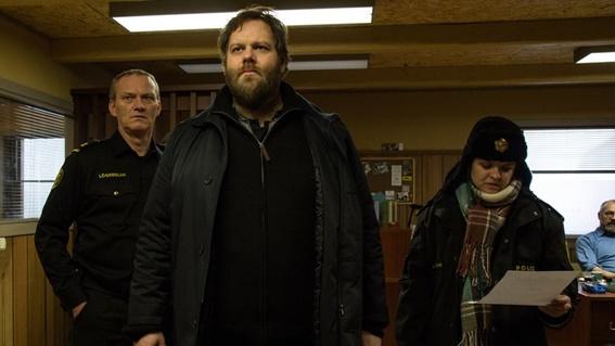 Em cena: Os atores Ólafur Darri Ólafsson (Andri), Ilmur Kristjánsdóttir (Hinrika) e Ingvar Eggert Sigurðsson (Ásgeir), protagonistas da série.