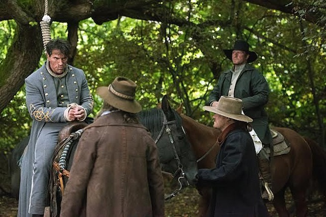 """DC's Legends of Tomorrow --""""Outlaw Country""""-- Image LGN206a_0074.jpg -- Pictured: Johnathon Schaech as Jonah Hex -- Photo: Dean Buscher/The CW -- © 2016 The CW Network, LLC. All Rights Reserved."""