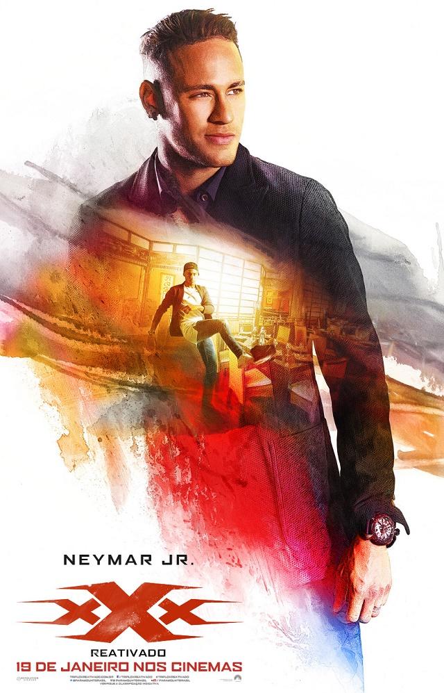 Neynar Jr. em xXx: Reativado