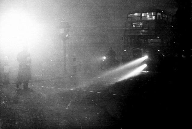 O grande nevoeiro de Londres em 1952