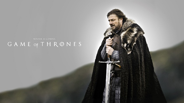 """""""Winter is coming!"""" - George R. R. Martin"""