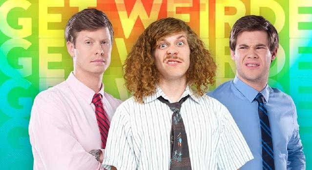 Anders Holm, Blake Anderson e Adam DeVine em Workaholics