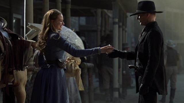Dolores e MIB. Westworld.