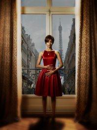 Zoe Salda es Rosemary Woodhouse.