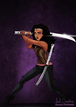 Esmeralda (EL Jorobado de Notre Dame) es Michonne.