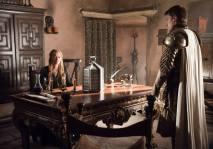 Cersei Lannister y Jaime Lannister.