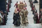 Cersei Lannister y Meryn Trant.