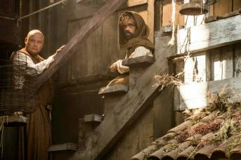 Tyron Lannister y Varys.