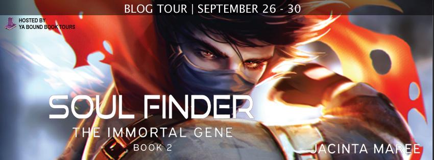 Blog Tour Soul Finder Immortal Gene 2 By Jacinta Maree