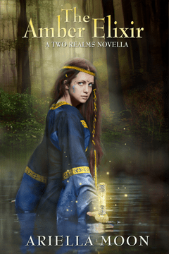 Blog Tour: The Amber Elixir (Two Realms Novella #1) by Ariella Moon
