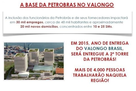 Base Da Petrobras no Valongo