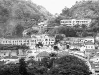 Construção do Túnel sob a antiga Santa Casa 1950