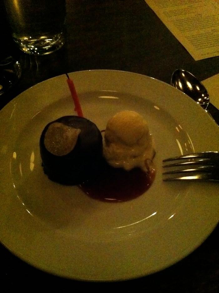 Dessert at Beast