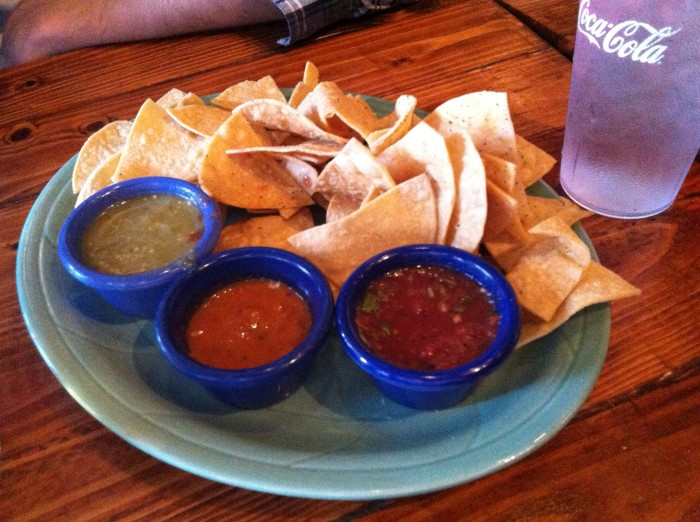 Chips and Salsa at Que Pasa Cantina // Serious Crust by Annie Fassler
