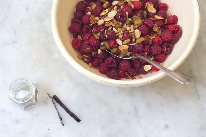 Saffron Raspberries from 101 Cookbooks // Friday Finds on Serious Crust, by Annie Fassler