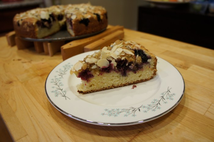Blackberry Coffeecake // Serious Crust by Annie Fassler