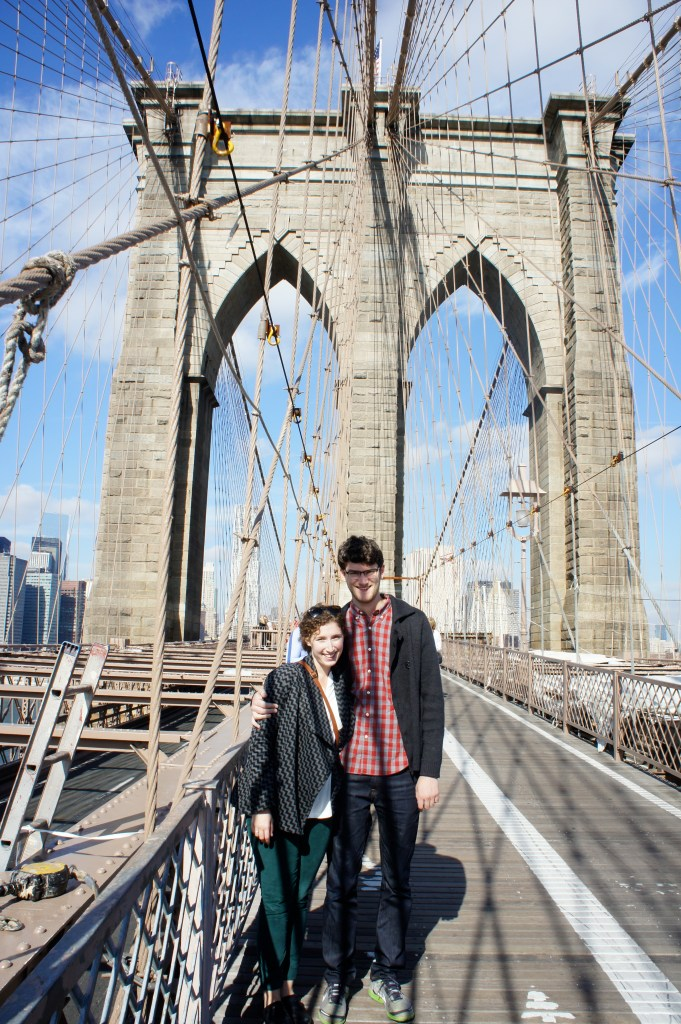 Brooklyn Bridge, NYC // Serious Crust by Annie Fassler