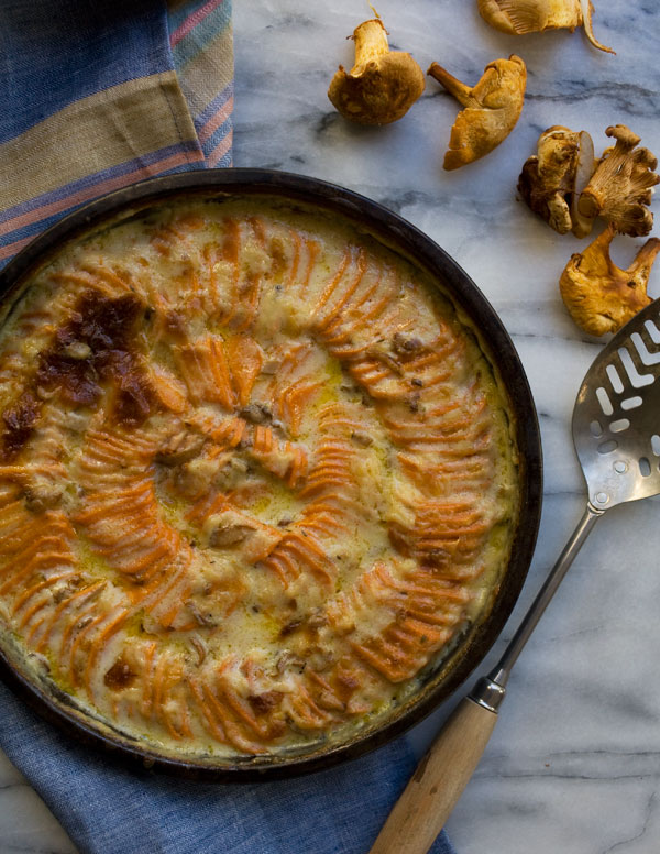 Sweet Potato Gratin // Weekend Finds, Serious Crust by Annie Fassler