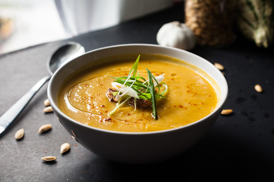 A Lighter Pumpkin Soup // Weekend Finds, Serious Crust by Annie Fassler