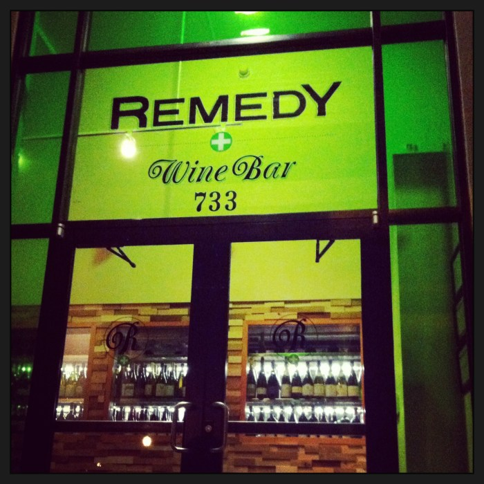 Remedy Wine Bar // Serious Crust by Annie Fassler