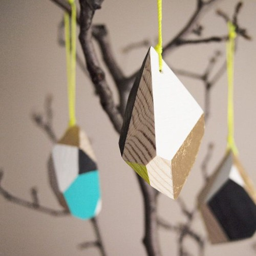 Geometric Ornaments on Weekend Finds // Serious Crust by Annie Fassler