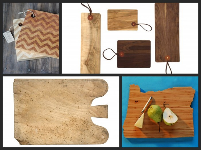 Kitchen Art: Cutting boards! // Serious Crust by Annie Fassler