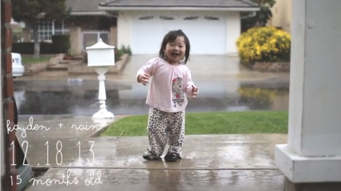 Kayden + rain video on Weekend Finds // Serious Crust by Annie Fassler