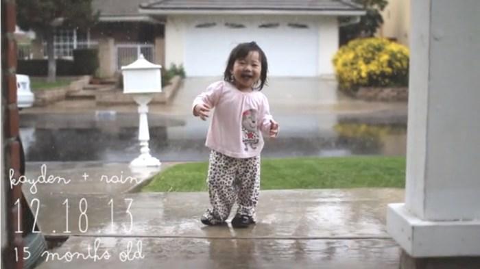 Kayden + rain video on Weekend Finds // Serious Crust by Annie Fassler