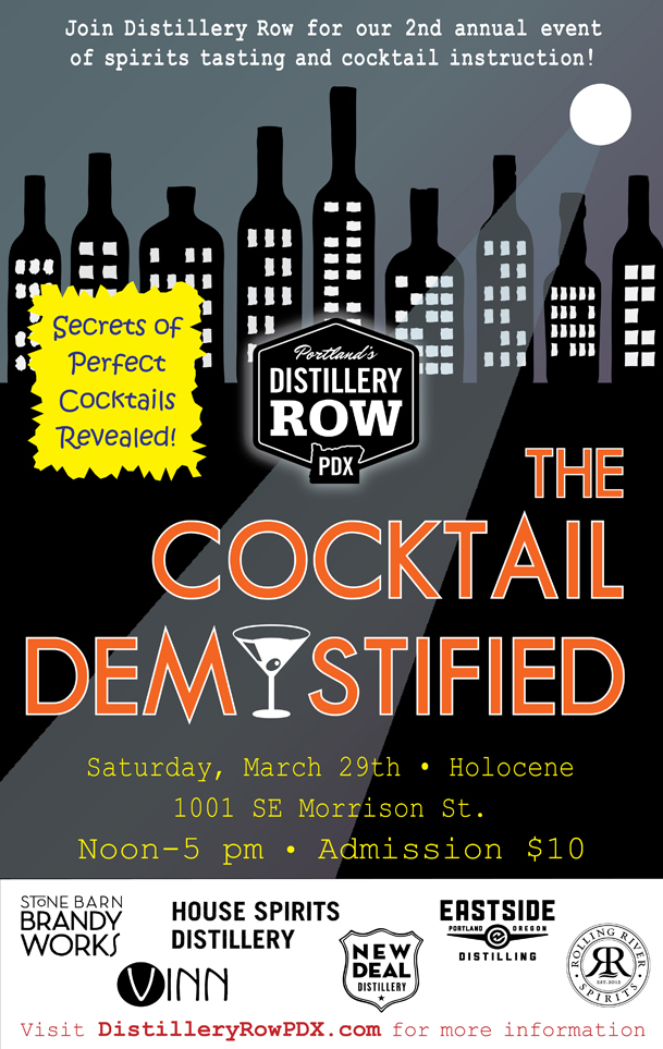The Cocktail Demystified in Portland // Serious Crust by Annie Fassler