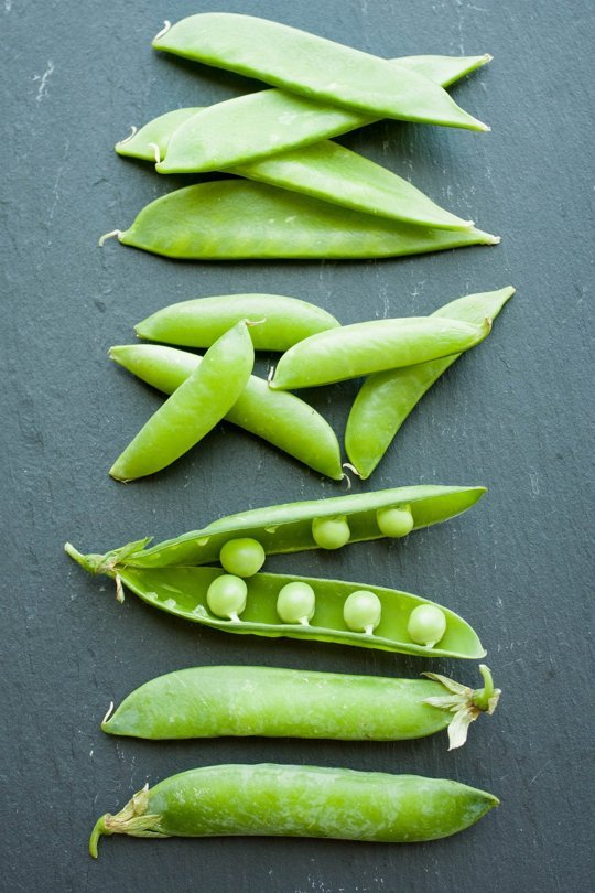 Summer Peas // Weekend Finds on Serious Crust