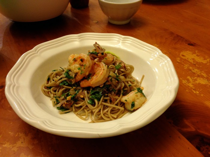 Soba Noodles with Shrimp // Serious Crust