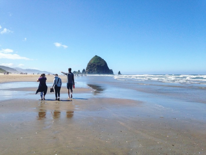Cannon Beach | Serious Crust by Annie Fassler