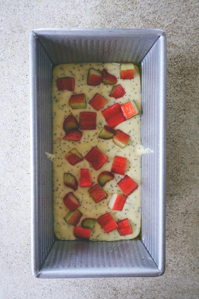 Gluten-Free Rhubarb Poppy Seed Bread | Serious Crust by Annie Fassler