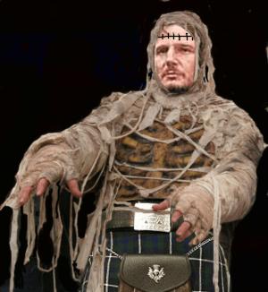 Part Frankenstein, part mummy, all Scottish