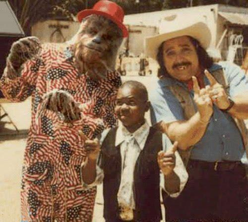 Chewbacca, Gary Coleman, and Ron Jeremy -- all being better than you.