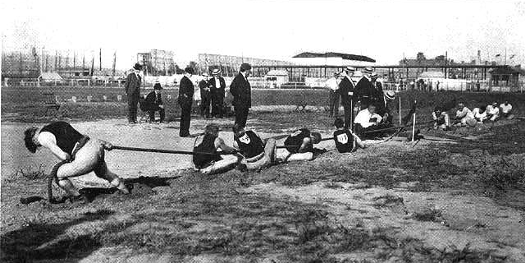 Two high school students lost eight fingers and one thumb in a tug-of-war match, breaking the record previously set in 1904 with four fingers and four handlebar mustaches amputated.
