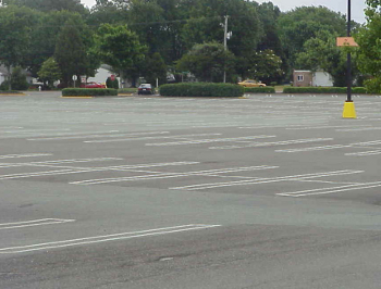 Probably what the Rowan County temple parking lot looks like on the Sabbath.