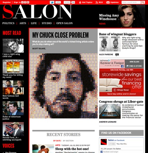 Basically, anything posted on Salon this year ...