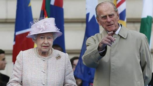 """Just a little longer, Betty. He's 92, I'm 87. I can wait ... Oh, bugger. He's pointing out British historical landmarks again."""