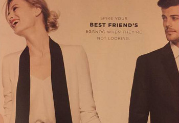 "Bloomingdale's holiday ad campaign was inspired by the ""Blurred Lines"" video."