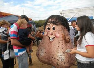 Senhor Testiculo gets a lot of attention being the only Brazilian without a Brazilian.