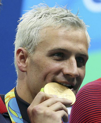Lochte also complained that the medals didn't have chocolate inside of them.