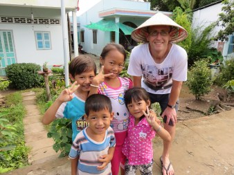 Incredibly friendly kids!