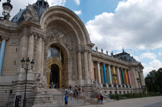 Entrance to the Petit Palais.