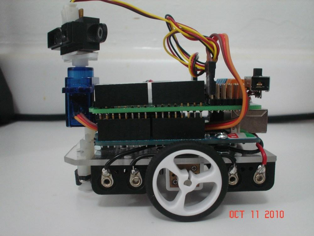 Compact - a Small Arduino Robot (5/6)